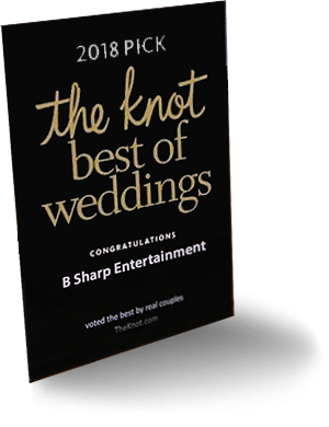 "B-Sharp Entertainment is a 2018 ""Best Of Weddings"" Pick from TheKnot.com"